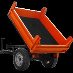 Semitrailer tractor dump truck P-03M