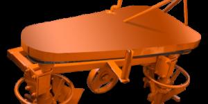 Плуг-картофелекопатель роторный