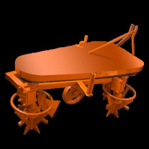 Plow-potato rotator