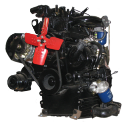 Two-cylinder diesel TY295