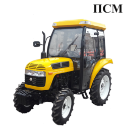 Minitractor JINMA-URALEC-244 (with cab)