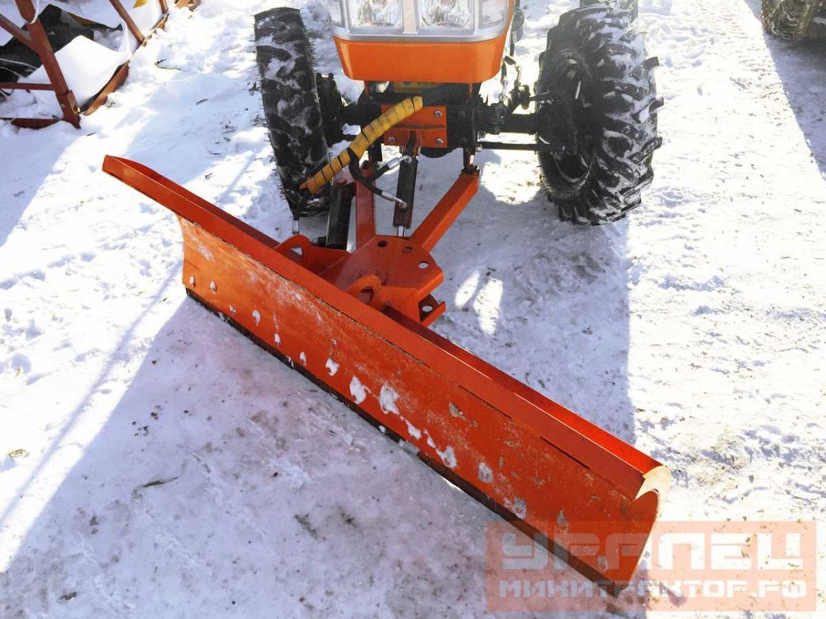 Снегоотвал для минитрактора своими руками