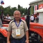 Выставка минитракторов Уралец в Киргизии