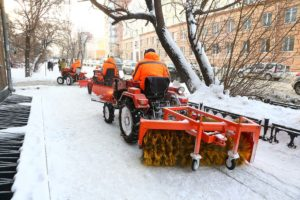 Snow cleaning in the capital of the Southern Urals