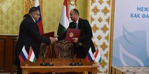 Россия будет поставлять Таджикистану тракторы и сельхозтехнику
