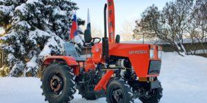 Минитракторы Уралец и сельхоз орудия к ним на днях отправились в республику Молдова