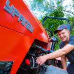 Техническое обслуживание трактора Уралец