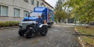Школьники из Челябинской области создадут «умный» трактор, которому не понадобится водитель